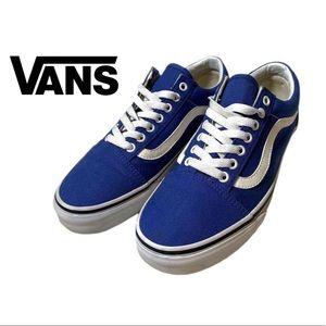 Vans Midnight Blue Canvas Low Top Sneakers